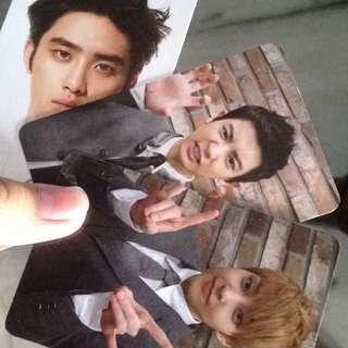 Exo Officially Alblum Card