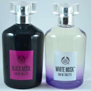 Body shop BLACK MUSK & WHITE MUSK EDT