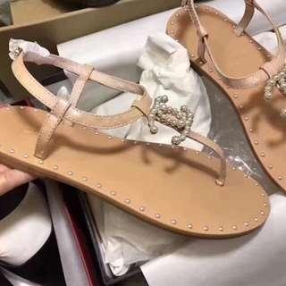 Chanel 新款春夏涼鞋