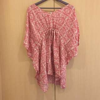Top Batwing Blouse