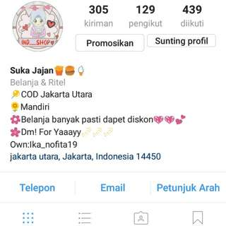 Cek My Instagram For Shoping