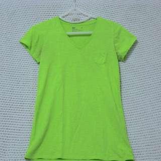 Bench V Tshirt (Yellow Green)