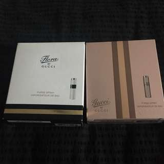 Gucci By Gucci & Flora By Gucci Purse Sprays