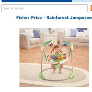 Fisher Price Rainforest Jump