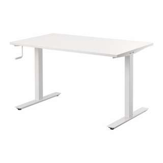 Sitting/Standing desk, white (near new condition)