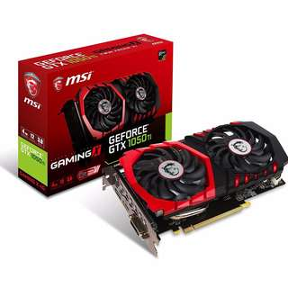 BNIB - MSI GEFORCE® GTX 1050 TI GAMING X 4G DDR5