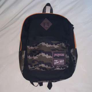 "JanSport x Benny Gold Superbreak 15"" Laptop Backpack - Fog Camo"