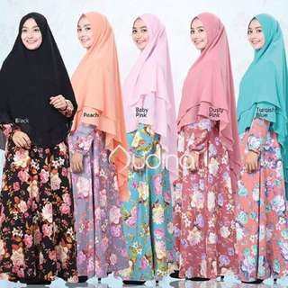 Hijab syare 3 Layer Exclusive Ceruti :)