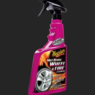 Meguairs Hot Rims Wheel And Tire Cleaner