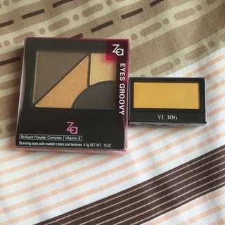Za & Shiseido Eyeshadow