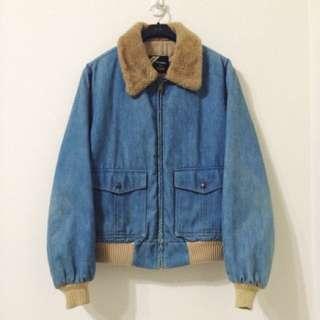 古著 Vintage 80's Sears Rattlesnake jacket 鋪棉刷毛夾克 飛行外套 美國製