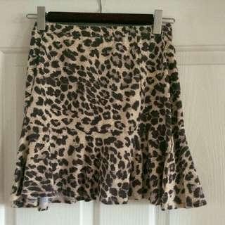 Factorie: Leopard Print Skirt