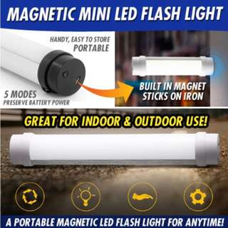 UY-Q6M MAGNETIC MINI LED FLASH LIGHT * OUTDOOR * EMERGENCY * STROBE MODE AND 4 LEVEL