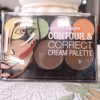 CITY COLOR Counture And Correct Cream Palette