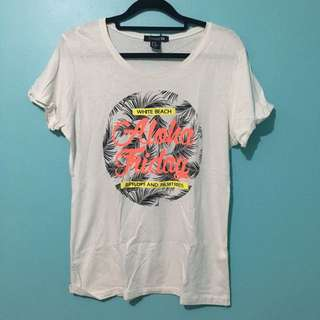 Forever 21 Printed Summer Shirt