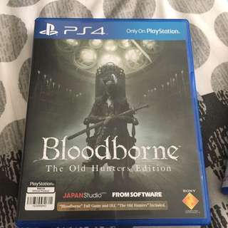 Ps4 - Bloodborne - The Old Hunter Edition