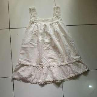 baju rajut putih