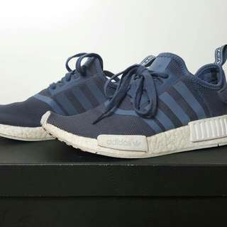 Adidas NMD R1 Boost Slate Blue/White
