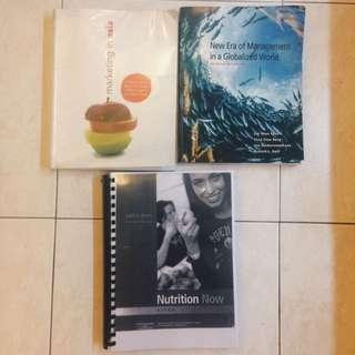 Textbooks For Sale (uni, Nus)