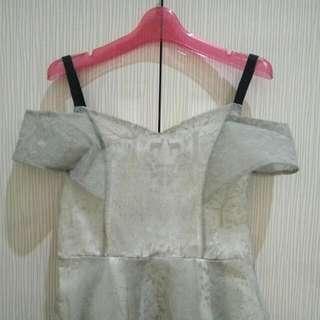 Grey Sabrina Dress