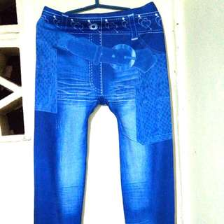 Blue Legging Pants
