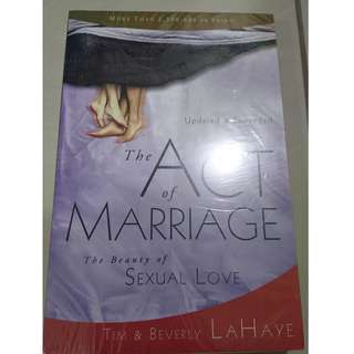 The Act of Marriage Book