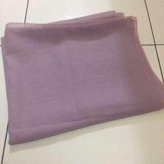 Pasmina Siffon (ungu Lavender)
