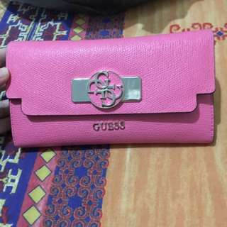 Real Pink Guess Purse