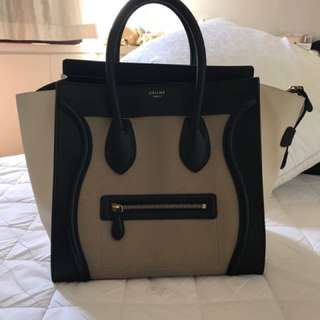 Celine Bag Mini Luggage