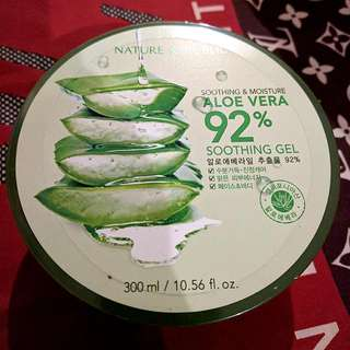 Nature Republic Aloe Vera 92% Shooting Gel