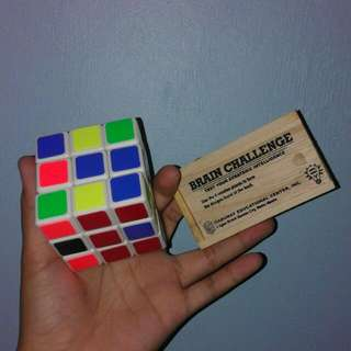 Rubik's Cube and Brain Puzzle