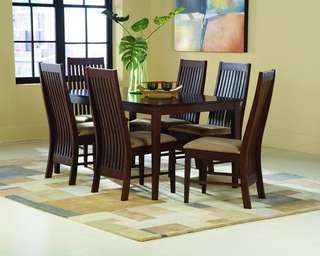 Solid wood Caddy Dining Set 6 seater Factory Price