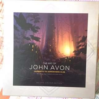 The Art of John Avon Journeys to Somewhere Else (Magic the Gathering, MTG)