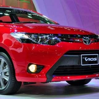 Car Rental (Red Vios) 1500