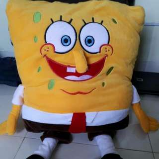 Boneka Jumbo Sepongebob By Istana Boneka Baru Dibuka Dr Plastik , Kondiisi 100%  #JualMainanAnak