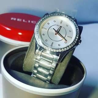 Relic Sworovski Watch