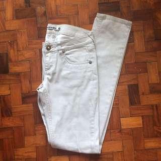 Terranova Regular Cut Women's White Jeans / Panta