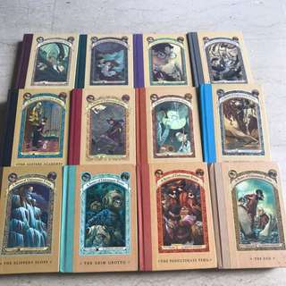 Lemony Snicket A Series Of Unfortunate Events 12 Hardcover Books Plus Free Gift