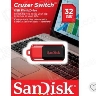 **BN** Cruzer Switch Thumbdrive 32GB