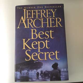 Jeffrey Archer - Best Kept Secret (Hard Cover)