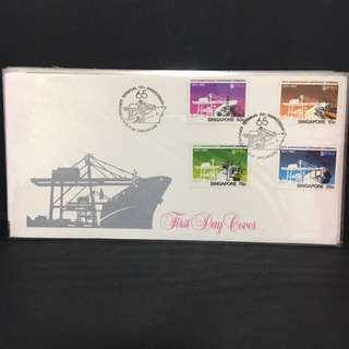 1982 Container Terminal FDC