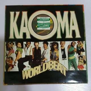 KAOMA WORLDBEAT 黑膠唱片 95%新