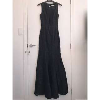 LIAM Black Ball Gown