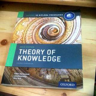 IB Theory Of Knowledge Course Companion (Oxford)
