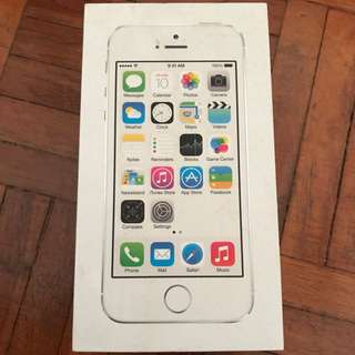 iPhone 5S Box