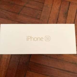 iPhone 5 SE Box