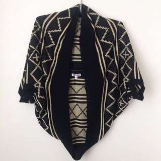 Knitted Poncho/Cardigan