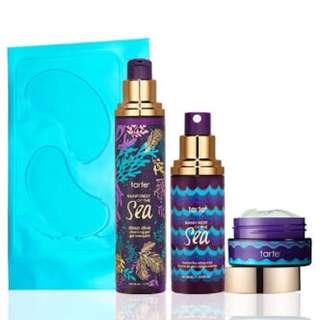 Limited Edition Tarte Cosmetics Hydration Vacation Skincare Travel Set