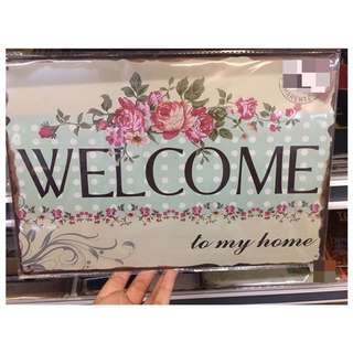 Welcome/Home/Family Sign