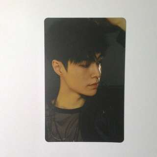 EXO Lay Debut 5th Anniversary Photocard